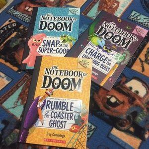 The Notebook Of doom Books